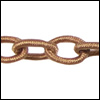 Polyester Chain TAN - per 3 ft strand