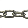 Polyester Chain GREY - per 3 ft strand