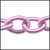 Polyester Chain LAVENDER - per 3 ft strand
