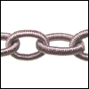 Polyester Chain TAUPE - per 3 ft strand