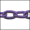 Polyester Chain PURPLE - per 3 ft strand