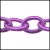 Polyester Chain LT PURPLE - per 3 ft strand