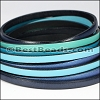 5mm Flat Leather Mixed Bundle OCEAN - 5 meters