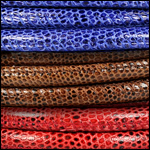 Lizard Print Leather<br>8mm