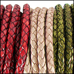 Braided Leather<br>3mm