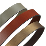 Plain Leather<br>15mm Strips