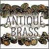 All Antique Brass Finish Chains