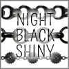 All Night Black Shiny Finish Chains