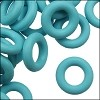 10mm rubber o-rings per 10 pieces SKY BLUE