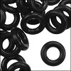 10mm rubber o-rings per 10 pieces BLACK