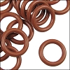 10mm rubber o-rings per 10 pieces RUST