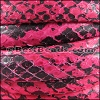 Mini Regaliz® PYTHON leather FUCSHIA - per 1 meter