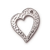 TCL-16<br>Hammered Heart Ring