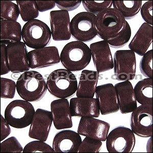 ceramic bead  per 1000 pieces BURGUNDY