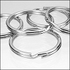Large Keychain split rings