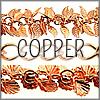 All Bright Copper Finish Chains